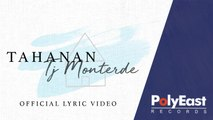 TJ Monterde - Tahanan  (Official Lyric Video)