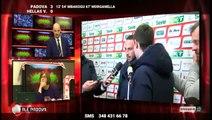 ALÉ PADOVA: PADOVA-H.VERONA 3-0: INTERVISTA A PAZZINI