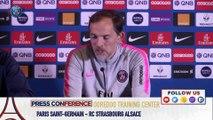 Replay : Conférence de presse de Thomas Tuchel avant Paris Saint-Germain-RC Strasbourg Alsace