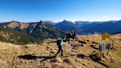 Bergtour im Tannheimer Tal: Von Rauth über die Krinnenspitze