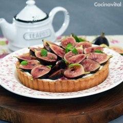 Receta de Tarta de higos y queso crema - Cocina Vital