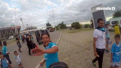 Los Cara 'e cancha de Belgrano, en video