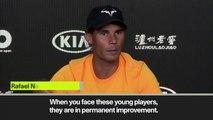 Eng Sub: 'Not a big surprise Tsitsipas beating Federer' Nadal