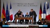 Info/Intox : ce que contient le traité d'Aix-la-Chapelle