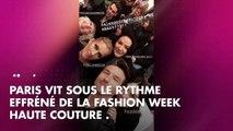 PHOTOS. Céline Dion et Pepe Munoz à Paris _ complicité et gestes tendres au défilé Alexandre Vauthie