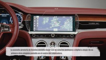Bentley Continental GT Convertible - Pantalla giratoria Bentley
