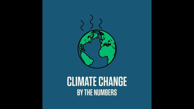 Climate Change By The Numbers