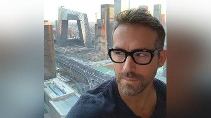 Para Ryan Reynolds lo primero es el trabajo