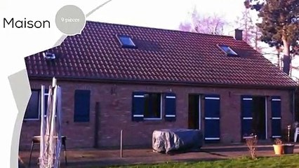A vendre - Maison/villa - Estreux (59990) - 9 pièces - 145m²