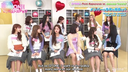[ENG SUB] 190106 Nice to Meet You! IZ*ONE's First Steps in Japan [EP 1]