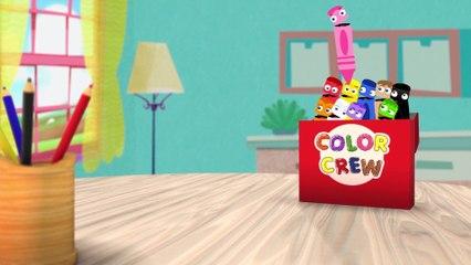 ¿Cual Será el Color de Hoy? Descúbrelo en Pandillas de Colores | BabyFirst Español