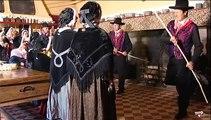 """La Bourrée du Puy Griou  par le groupe folklorique """" la bourrée du CARLADES """""""