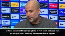 """League Cup - Guardiola : """"Certains joueurs ont besoin de rythme"""""""