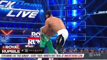 WWE Rey Mysterio vs. Andrade - 2-out-of-3 Falls Match SmackDown LIVE, Jan. 22, 2019