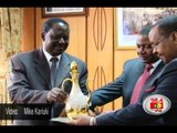 Raila surrenders Turkish gifts