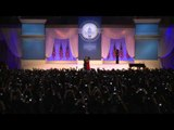 Obama and first lady in inauguration dance