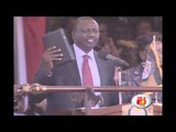 William Ruto gets sworn in as deputy President