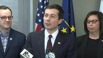 South Bend, Indiana, Mayor Pete Buttigieg considers presidential run
