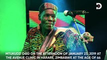 Oliver Mtukudzi dead at 66 years of age