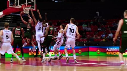 7Days EuroCup Highlights Top 16, Round 4: Lokomotiv 88-76 Ulm