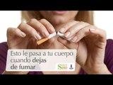 Esto le pasa a tu cuerpo cuando dejas de fumar | Cortos por S180