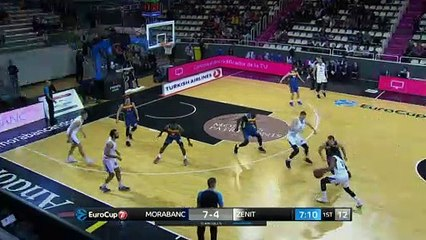 7Days EuroCup Highlights Top 16, Round 4: MoraBanc 86-74 Zenit