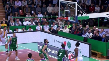 7Days EuroCup Highlights Top 16, Round 4: Limoges 77-78 Unicaja