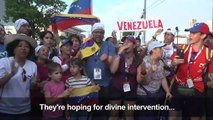 Venezuelans at World Youth Day hope for political change
