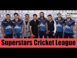 Celebs at Superstar Cricket league