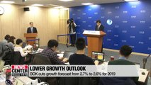Bank of Korea cuts growth outlook to 2.6%, keeps key rate on hold