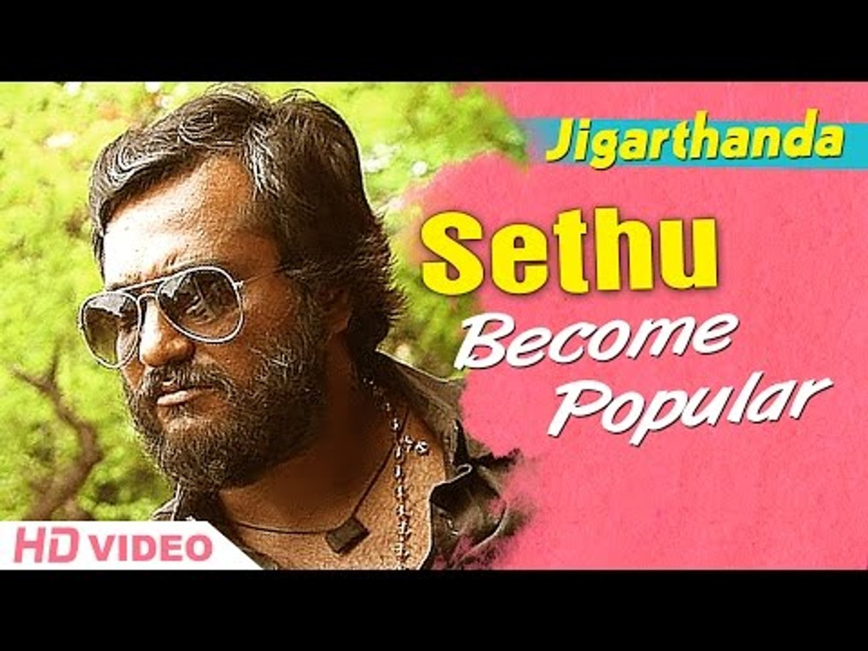 Jigarthanda Tamil Movie - Bobby Simha becomes popular   Siddharth   Lakshmi Menon   Bobby Simha