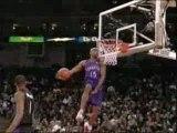 NBA BASKETBALL - Vince carter slam dunk