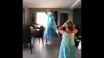 20 millions de vues en quelques jours pour un père et son fils qui dansent sur.. La Reine des Neiges !
