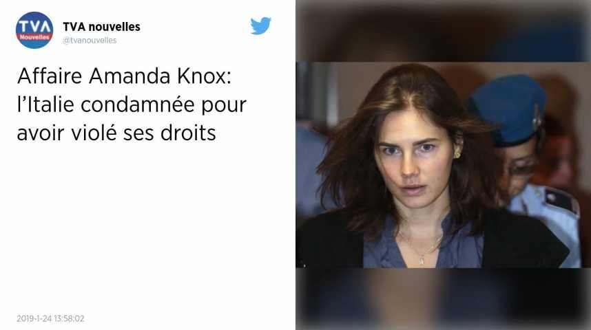 Affaire Amanda Knox. L'Europe condamne l'Italie pour l'absence d'avocat et d'interprète professionnel
