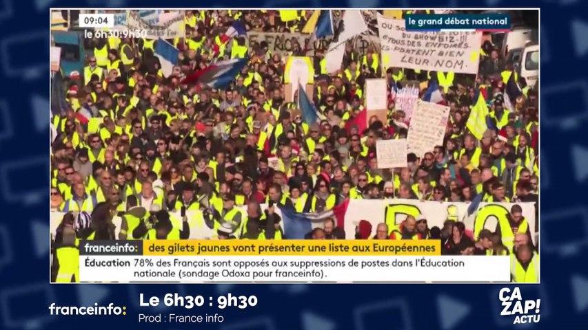 Jean-Jacques Bourdin se moque de Nicolas Dupont-Aignan - ZAPPING ACTU DU 24/01/2019