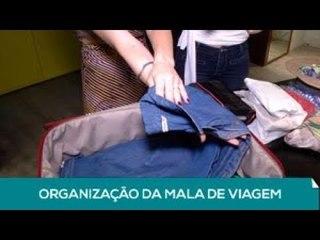 Lente: Organização da mala de viagem (2 de 2)