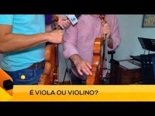 Fui!: Como diferenciar um violino de uma viola (2 de 3)