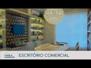 Casa & Conforto: Decoração de Escritório Comercial