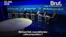 Taxe à 70% : quand un économiste casse l'ambiance à Davos