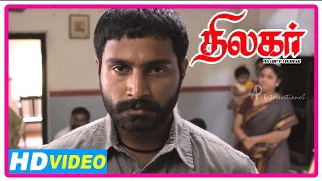 Thilagar Tamil Movie | Scenes | Mrudula denies to marry Dhruvva | Anumol