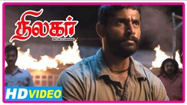 Thilagar Tamil Movie | Scenes | Dhruvva assassinates Kishore's slayer | Anumol | Poo Ram