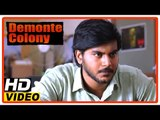 Demonte Colony Tamil Movie | Scenes | Sanath tells story to the producer | Title Credits | Arulnithi
