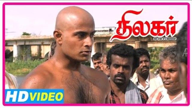 Thilagar Tamil Movie | Scenes | Dhruvva vows Kishore's killers | Anumol
