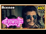 Naanum Rowdy Dhaan Movie | Scenes | Title Credits | Young Vijay Sethupathi decides to become rowdy