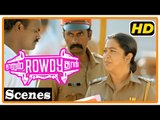 Naanum Rowdy Dhaan Movie | Scenes | Vijay Sethupathi intro supporting rowdy during police selection