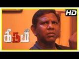 Kirumi Tamil Movie   Scenes   Charle warns Kathir about David and Marimuthu   Yogi Babu