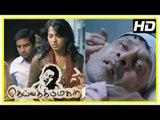 Deiva Thirumagal Tamil movie | scenes | Anushka admits Vikram in hospital | Santhanam