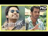 Osthi Tamil Movie Scenes ,  Sonu Sood warns Simbu ,  Sonu Sood decides to End Simbu ,  Revathi