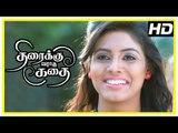 Thiraikku Varadha Kadhai Scenes   Iniya convinces Eden to act in her movie   Eden impresses girls