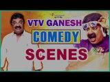 VTV Ganesh Comedy Scenes | Santhanam | Robo Shankar | Kovai Sarala | Tamil Comedy Scenes
